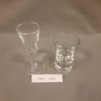 Snaps glas