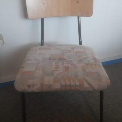 Stol polstret sæde stabel