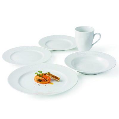 Hvid Porcelæn Service